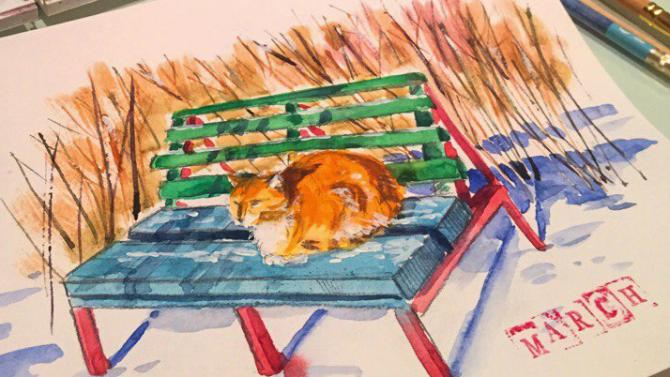 О рыжих котах
