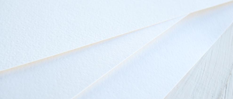 О белом листе