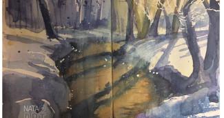 Про ручей в лесу